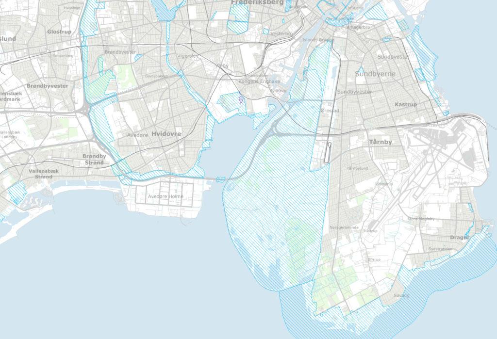 Fredninger omkring Sydhavnen og Amager